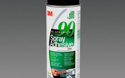 3M introduces new low VOC spray sdhesives