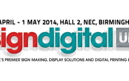Sign and Digital UK 2014 sets stage for latest textile prospects
