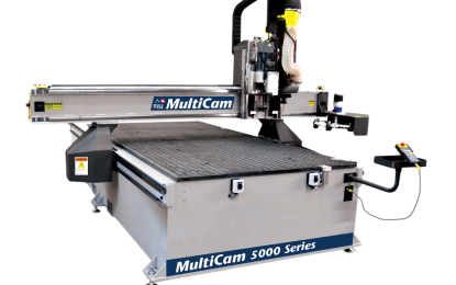 MultiCam offers solution for 5000 Series CNC router