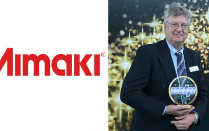Mimaki honoured with two EDP Awards