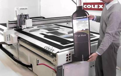 Colex introduces latest sharpcut flatbed cutter