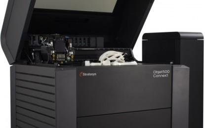 Stratasys launches multi-material 3D printers