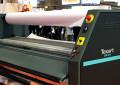 Roland Texart printer enhanced speed via calender system