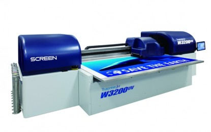 Screen adds roll to roll option to Truepress Jet W3200UV
