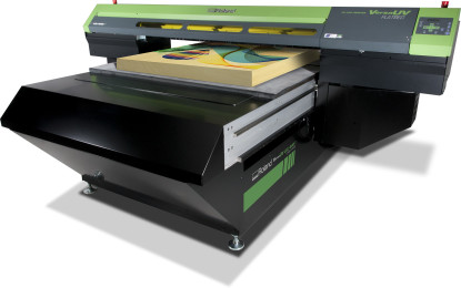 Roland DG's new versatile VersaUV LEJ-640FT UV-LED flatbed printer