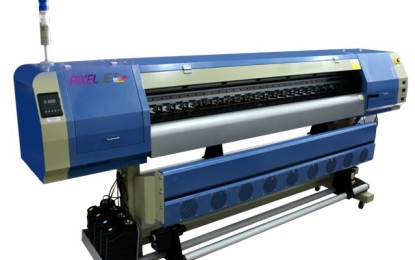 Monotech launches new eco-solvent PixelJet with RICOH printhead