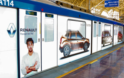 JCDecaux signs contract for Chennai Metro train branding