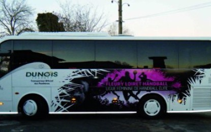 HEXIS introduces new high gloss vinyl for fleet graphic