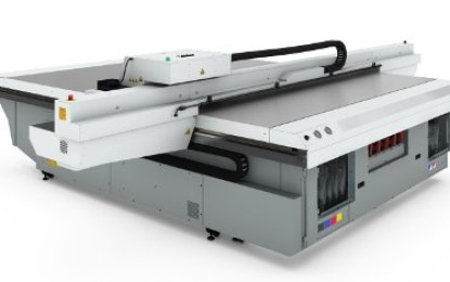 Océ Arizona 1200 Series of UV flatbed printers introduced
