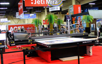AGFA Graphics adds new features and automation to Jeti Tauro and Mira