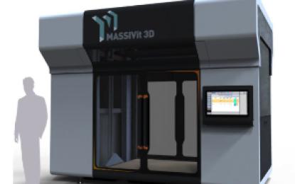 Israeli company Massivit 3D to premier its new Massivit 1800 printer at drupa 2016