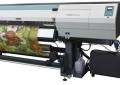 FUJIFILM unpacking OEM 3.2 meter super-wide UV printer at drupa 2016