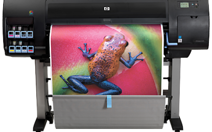 HP expands DesignJet Z Series with chromatic red ink