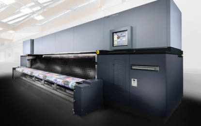 Durst introduces world's first 5m-wide dye sub printer