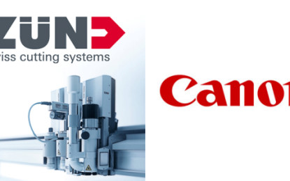 Canon and Zünd collaboratively introduce 'View & Cut' prototype to automate wide-format finishing