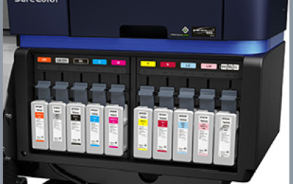 EPSON and 3M jointly produce UltraChrome GS3 inks