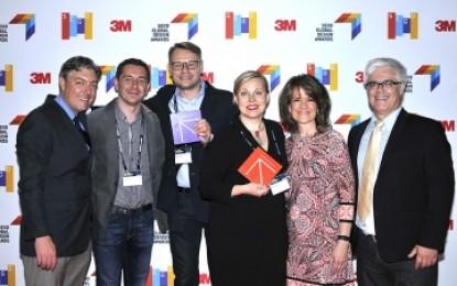 3M honoured with 2016 SEGD Arrow Award