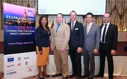 FESPA Asia set be ASEAN region's specialty print event in 2017