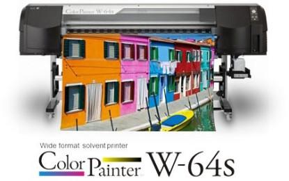 OKI launches ColorPainterT E-64 eco-solvent printer