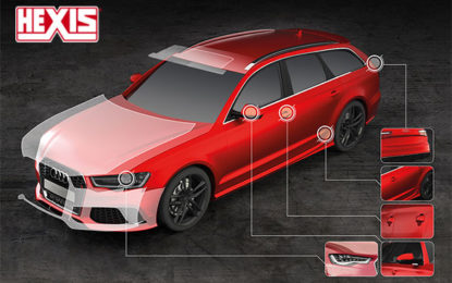 HEXIS introduces paint protection with matt finish