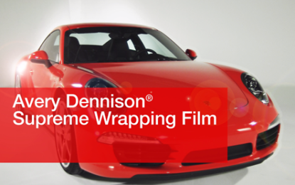 Study shows Avery Dennison films superior to conventional car-wrapping films