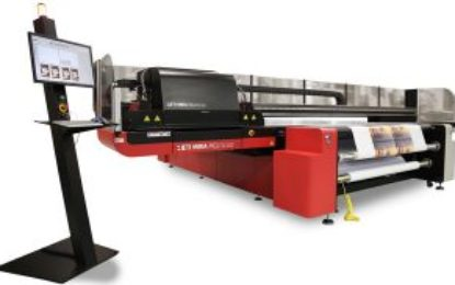AGFA Graphics introduces new Jeti Mira with UV LED curing