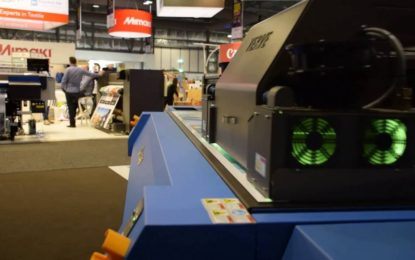 Colorjet's VERVE true flatbed printer receives overwhelming response at SGI 2017