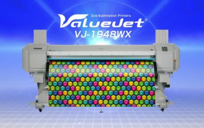 MUTOH announces ValueJet 1948WX dye-sub printer