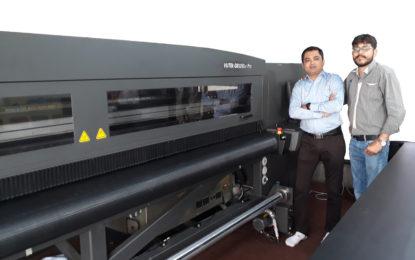 Arrow Digital installs first EFI H1625LED UV at D'Signs Workspace Innovations in Mumbai