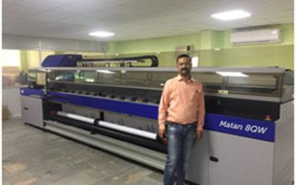 Arrow Digital delivers Efi-MATAN 8Q UV to Progressive Consultant in Bhopal