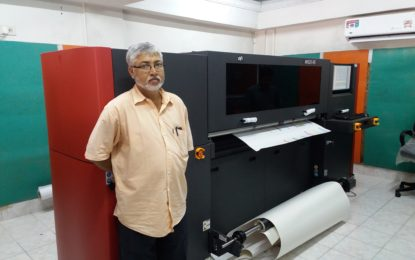 Arrow Digital delivers EFI H1625-RS printer with 3M inks to GK Enterprise in Kolkata