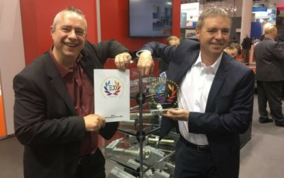ZUND's 3.6kW Routing System RM-L wins 'Best Digital Cutting Systems' prize