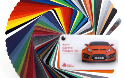 Avery Dennison releases 18 new Supreme Wrapping Films