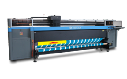 ColorJet showing its soft signage printer SoftJet at FESPA 2017 in Hamburg