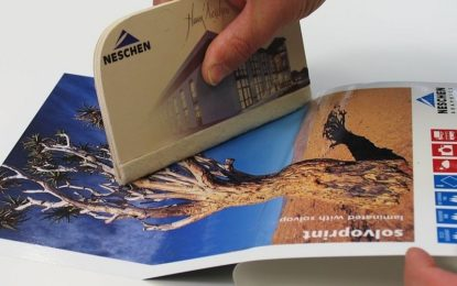 Neschen releases Solvoprint glass deco dusted film
