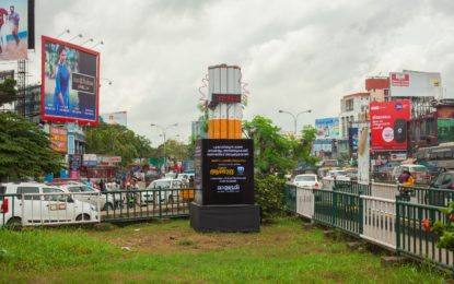 Mathrubhumi launches unique outdoor campaign on World No Tobacco Day in Kochi