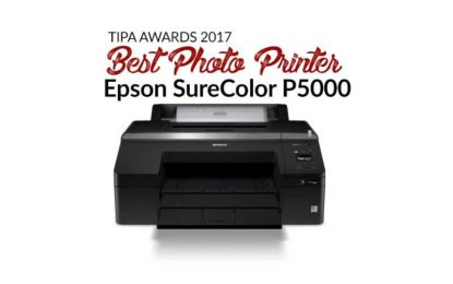 EPSON SureColor P5000 wins 'TIPA Best Photo Printer Award'