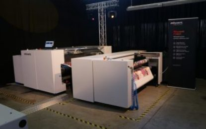 BOBST and Radex launch their first digital textile printer