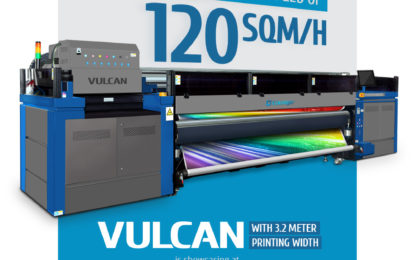 ColorJet launching 3.2 m VULCAN UV LED RTR printer at Media Expo 2017 in New Delhi