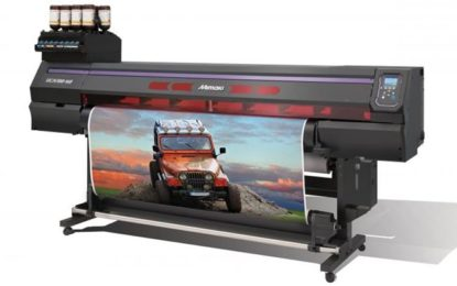 New Mimaki UCJV300-160 and UCJV150-160 RTR LED UV cutter-printers