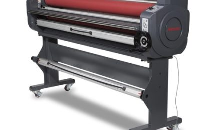 Mimaki releases LA Series heat-assisted laminators and film for UCJV Series LED UV printers/cutters