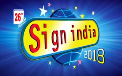 Sign India 2018 gears up for Mumbai edition