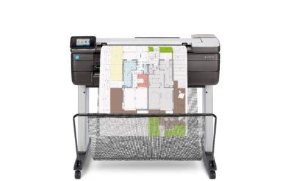 HP introduces 24-inch HP DesignJetT830 multifunction printer