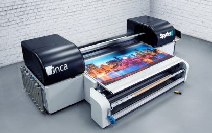 FUJIFILM announces new Inca SpyderX UV flatbed and RTR printer