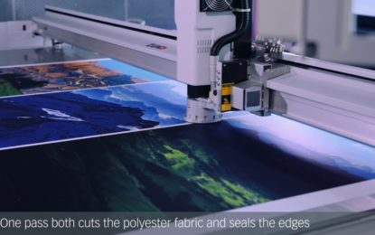 Zund develops Laser Module for cut and seal edges simultaneously