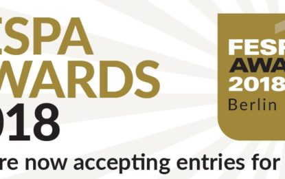 January 26 as final deadline for entry to FESPA Awards 2018