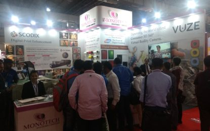 Monotech Systems displayed line of products and solutions for photo segment at CEIF 2018 Mumbai