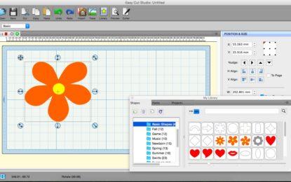 EasyCut Studio announces Version 4.102 of design & cut software