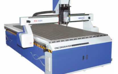 Sign Art in Dehradun installs new Mehta LX-1325 CNC router