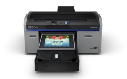 New EPSON SureColor F2100 high-performance direct-to-garment printer